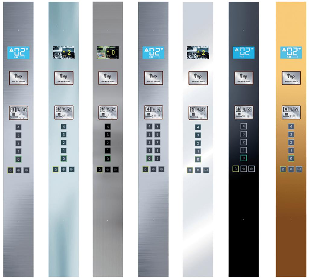 Full Height Column Operating panel